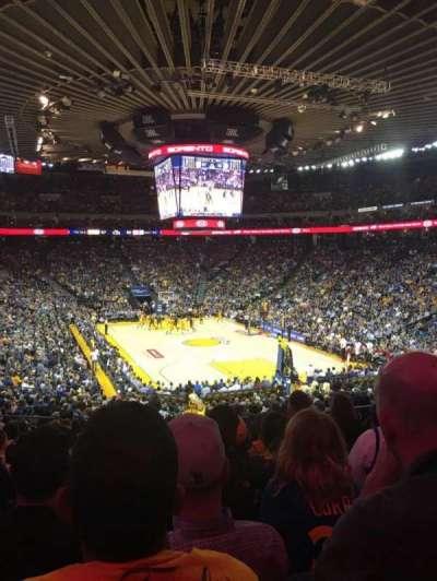 Oracle Arena, sección: 109, fila: 25, asiento: 8