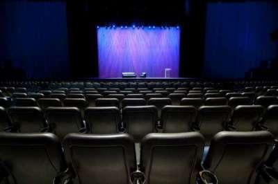Microsoft Theater, sección: Orchestra Center, fila: F, asiento: 314