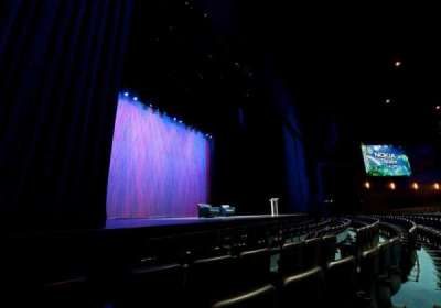 Microsoft Theater, sección: Pit Left, fila: 5, asiento: 507