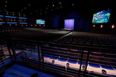 Microsoft Theater, sección: Orchestra Center Right, fila: SS, asiento: 205