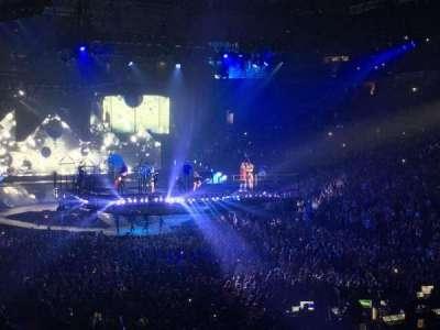 Oracle Arena, sección: 109, fila: 23, asiento: 18