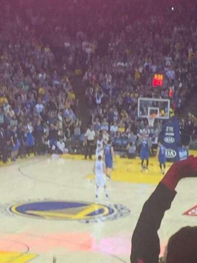 Oracle Arena, sección: 120, fila: 27, asiento: 13