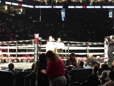Oracle Arena, sección: 116, fila: A2, asiento: 1
