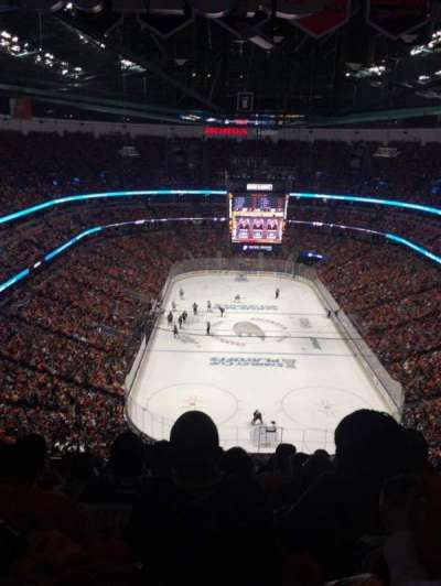 Honda Center, sección: 401, fila: T, asiento: 8