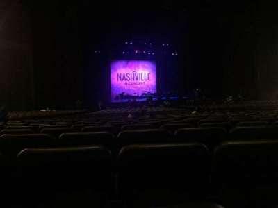 Microsoft Theater, sección: Orchestra Left Center, fila: FF, asiento: 416