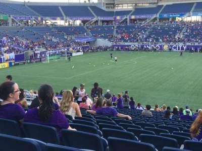 Camping World Stadium, sección: 109, fila: Y, asiento: 10