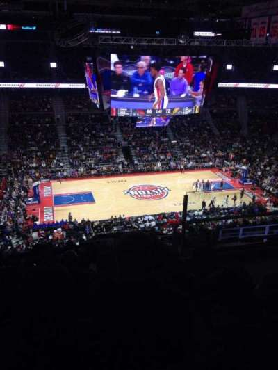 The Palace of Auburn Hills, sección: 217, fila: 13, asiento: 4