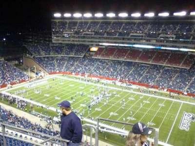 Gillette Stadium, sección: 327, fila: 11, asiento: 23