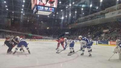 Ricoh Coliseum, sección: 116, fila: AA, asiento: 3