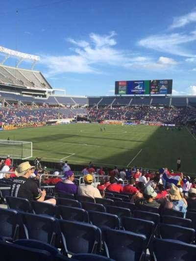 Camping World Stadium, sección: 145, fila: Aa, asiento: 31