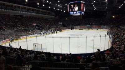 Ricoh Coliseum, sección: 114, fila: D