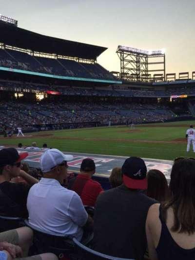 Turner Field, sección: 115L, fila: 9, asiento: 106