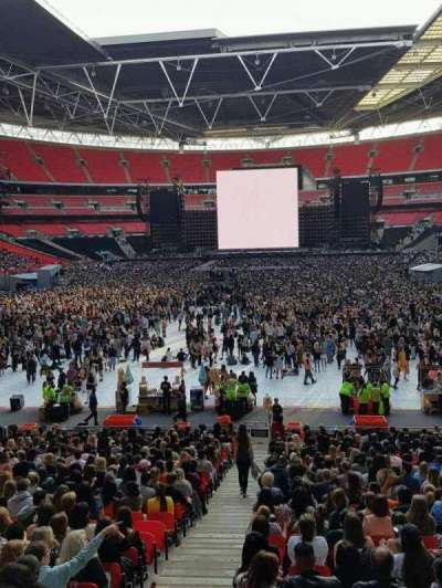 Wembley Stadium, sección: 11, fila: 38, asiento: 245