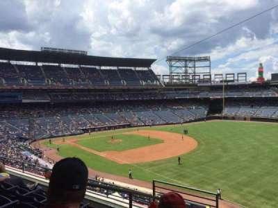 Turner Field, sección: 321, fila: 5, asiento: 3