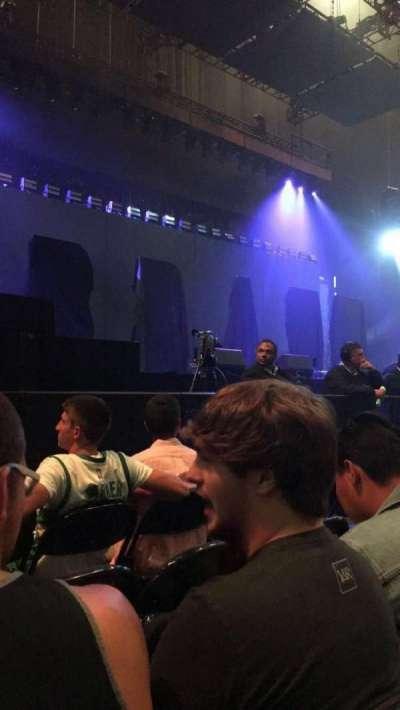 Bridgestone Arena, sección: 3, fila: 4, asiento: 9