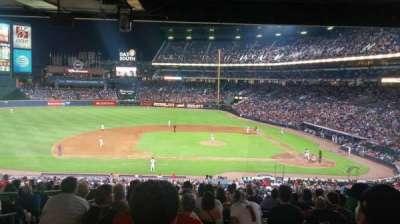 Turner Field, sección: 212, fila: 16, asiento: 4