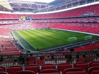 Wembley Stadium, sección: 243, fila: 11, asiento: 100