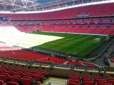 Wembley stadium, sección: 245