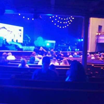 Ryman Auditorium, sección: 7, fila: s, asiento: 4
