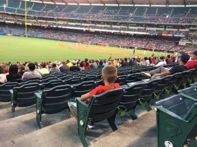 Angel Stadium sección F105