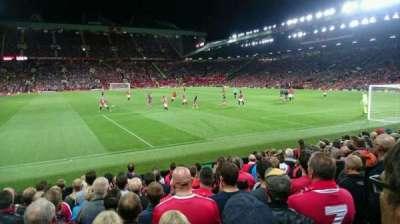 Old Trafford, sección: W102, fila: MM, asiento: 159