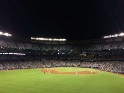 Rogers Centre, sección: 244L, fila: 2, asiento: 110