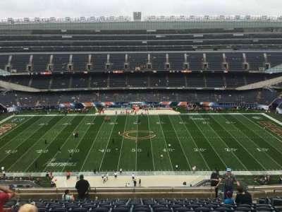 Soldier Field, sección: 437, fila: 12, asiento: 13