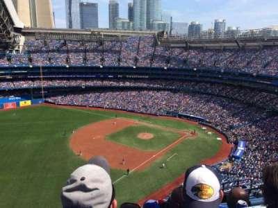 Rogers Centre, sección: 535L, fila: 16, asiento: 109