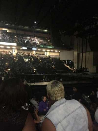 Royal Farms Arena, sección: 108, fila: D, asiento: 3