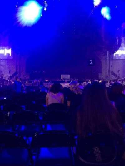 Royal Farms Arena, sección: 5, fila: K, asiento: 14