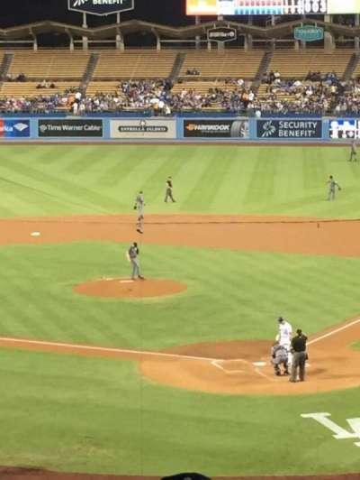 Dodger Stadium, sección: 109LG, fila: s, asiento: 2