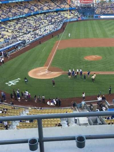 Dodger Stadium, sección: 10RS, fila: C, asiento: 6