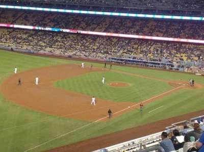 Dodger Stadium, sección: 39RS, fila: K, asiento: 8