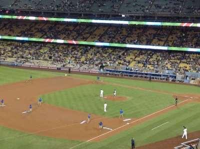 Dodger Stadium, sección: 35RS, fila: C , asiento: 22