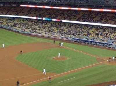 Dodger Stadium, sección: 27RS, fila: L, asiento: 21