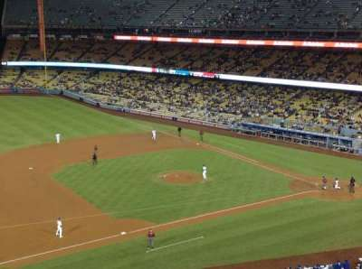 Dodger Stadium, sección: 23RS, fila: D, asiento: 22