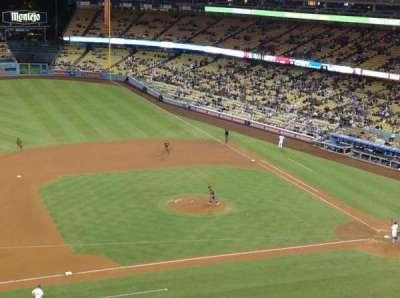 Dodger Stadium, sección: 19RS, fila: F, asiento: 18