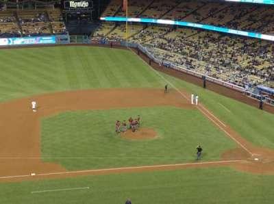 Dodger Stadium, sección: 15RS, fila: J, asiento: 15