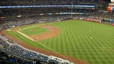 Yankee Stadium, sección: 410, fila: 1, asiento: 7