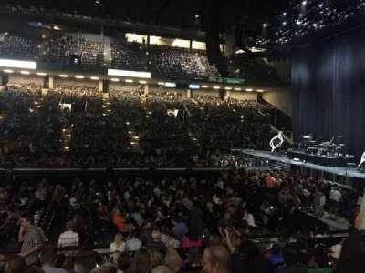 Royal Farms Arena, sección: 108, fila: J, asiento: 11
