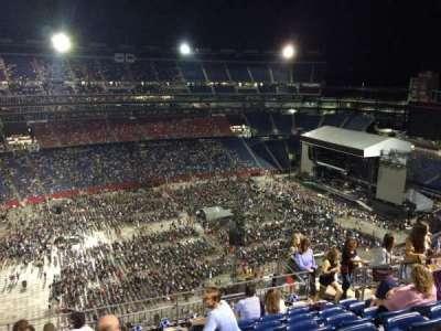 Gillette Stadium, sección: 335, fila: 15, asiento: 8