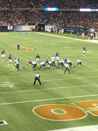 Soldier Field, sección: 254, fila: 1, asiento: 7