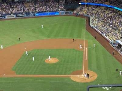 Dodger Stadium, sección: 11TD, fila: E, asiento: 1