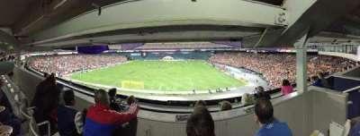 RFK Stadium, sección: M22, fila: 3, asiento: 4