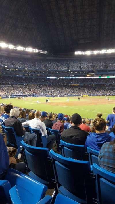 Rogers Centre, sección: 113BR, fila: 22, asiento: 4