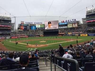 Yankee Stadium, sección: 120A, fila: 11, asiento: /