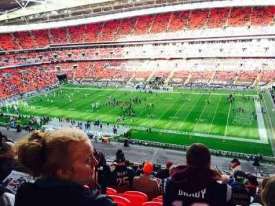 Wembley Stadium, sección: 524, fila: 12