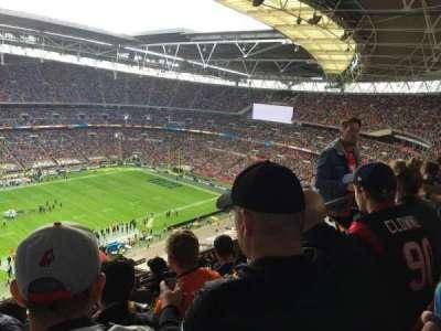 Wembley Stadium, sección: 503, fila: 24, asiento: 81