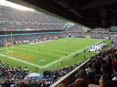 Soldier Field, sección: 216, fila: 19, asiento: 1
