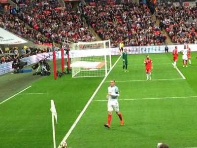 Wembley stadium, sección: 126, fila: 14, asiento: 109
